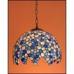 Lampa żyrandol zwis witraż KROPLA 40cm