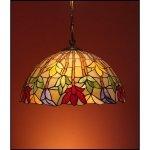 Lampa żyrandol zwis witraż STORCZYK 30cm