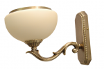 Kinkiet mosiężny,lampa ścienna z mosiądzu,lampa na ściane
