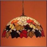 Lampa żyrandol zwis witraż JESIEŃ 50cm