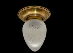 Plafon mosiężny JBT Stylowe Lampy WPMB/M/GŁ