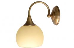 Kinkiet mosiężny JBT Stylowe Lampy WKMB/W39/1