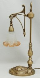Lampka mosiężna JBT Stylowe Lampy WLMB/840L/1