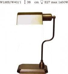 Lampka mosiężna JBT Stylowe Lampy WLMB/W40/1