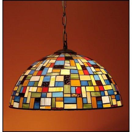 Lampa żyrandol zwis witraż MOZA 40cm
