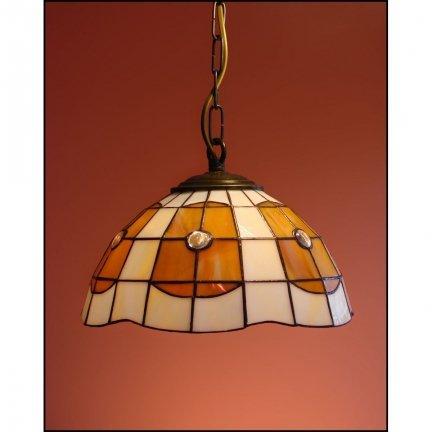 Lampa żyrandol zwis witraż PARASOL 25 cm