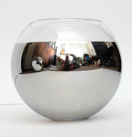 Klosz szklany kula otwarta 14,5cm lampa E27