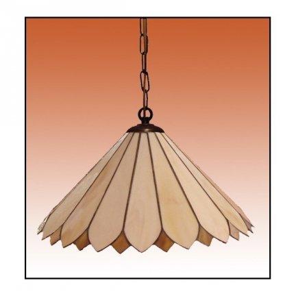 Lampa żyrandol zwis witraż Tulipan 40cm