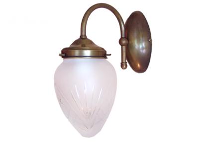 Kinkiet mosiężny JBT Stylowe Lampy WKMB/W23/1