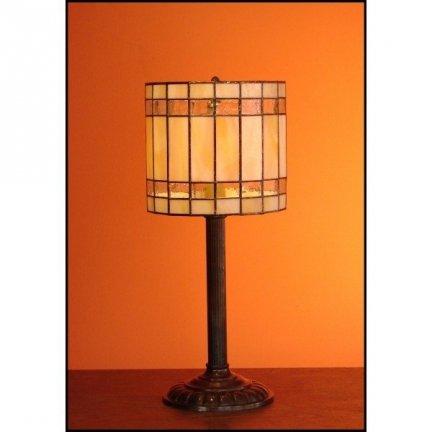 Lampka witrażowa nocna biurkowa NUOVA H-44 cm