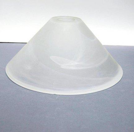 Klosz szklany duży 30cm lampa żyrandol E27