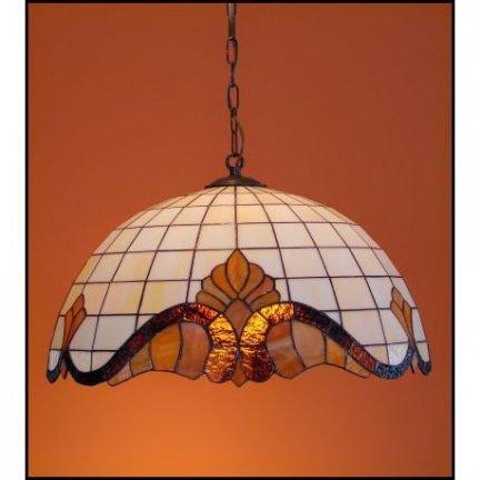 Lampa żyrandol zwis witraż Classic 50cm