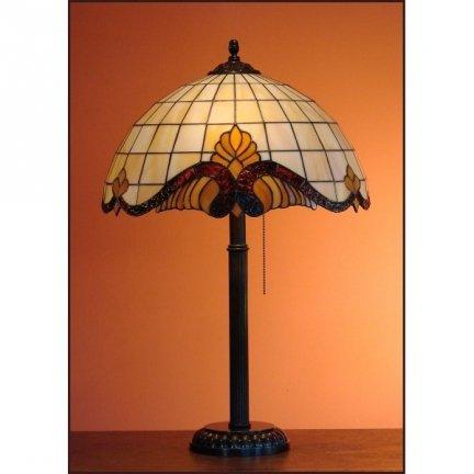 Lampka witrażowa nocna biurkowa CLASSIC H-61 cm