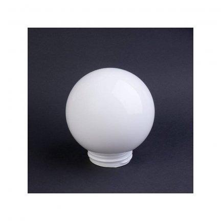 Klosz szklany kula z gwintem 150mm/84,5mm