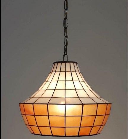 Lampa żyrandol zwis witraż ARCUS 30cm
