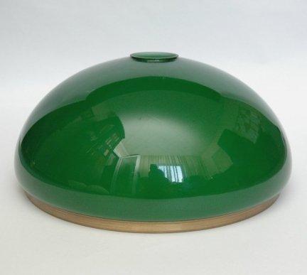 Klosz szklany duży 30cm zielony,lampa,E27