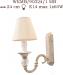 Kinkiet mosiężny JBT Stylowe Lampy WKMB/90324/1MB