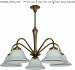 Żyrandol mosiężny JBT Stylowe Lampy WZMB/W52/D5