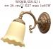 Kinkiet mosiężny JBT Stylowe Lampy WKMB/531K/1