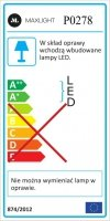MAXLIGHT P0278 LAMPA WISZĄCA PEAK L COPPER, 35W