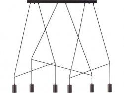 Lampa wisząca Nowodvorski IMBRIA BLACK VI listwa 9675