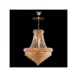 Lampa kryształowa AURORA 3366/9 GD