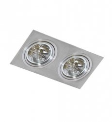 Lampa techniczna SIRO 2 Aluminium AZzardo GM2200 ALU