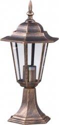 STANDARD lampa zewnętrzna stojąca niska K-5009S CZARNY/ZŁOTY KAJA