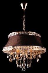 Lampa wisząca ANDREA BROWN 3271/GD+BROWN