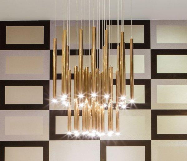 ORGANIC GOLD lampa wisząca P0242 MAXlight