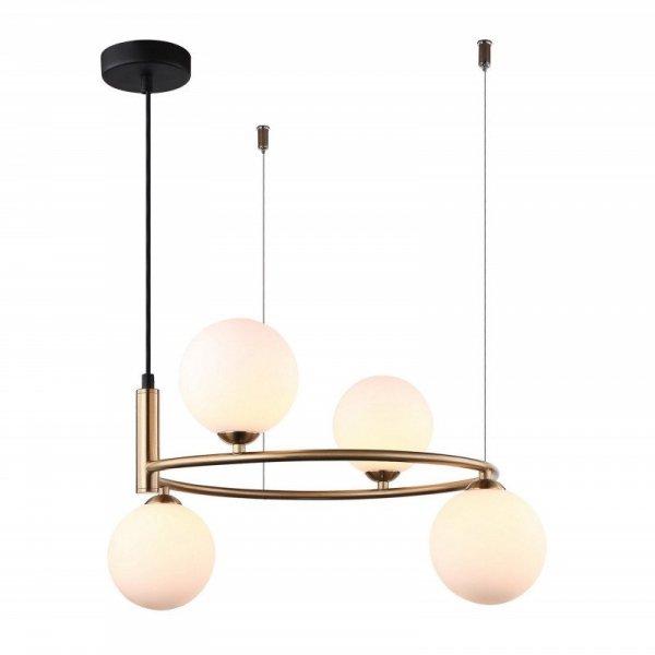 Lampa wisząca AMILY MDM-3974/4 BRO Italux