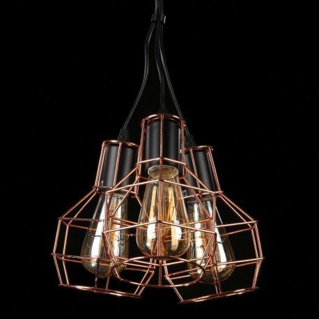 Lampa wisząca Carron 3 AZzardo MD50148-3