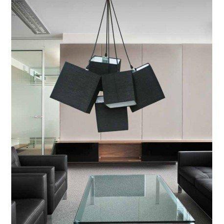 Lampa wisząca AZzardo Tora Black PL-11093 BK