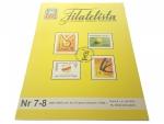FILATELISTA NR 7-8 (884) ROK XLIII 1996