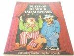 PLAYS OF HUMOUR AND SUSPENSE - Sadler, Hayllar
