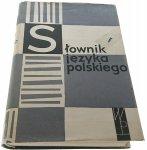 SŁOWNIK JĘZYKA POLSKIEGO TOM II D-G 1960