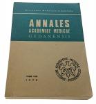 ANNALES ACADEMIAE MEDICAE GEDANENSIS TOM VIII 1978