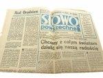SŁOWO POWSZECHNE NR 240 9858 ROK XXXII 1978