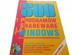500 PROGRAMÓW SHAREWARE DO WINDOWS - Hedtke 1994