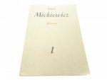 WIERSZE - Adam Mickiewicz (1981)