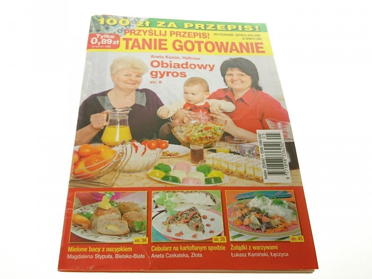 Przyślij Przepis Tanie Gotowanie Wydanie Nr 5 2012