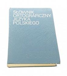 SŁOWNIK ORTOGRAFICZNY JĘZYKA POLSKIEGO 1989