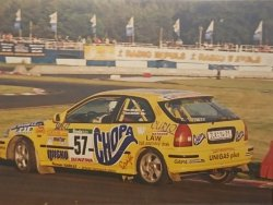 RAJD WRC 2005 ZDJĘCIE NUMER #004 HONDA CIVIC