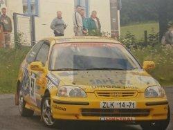 RAJD WRC 2005 ZDJĘCIE NUMER #314 HONDA CIVIC