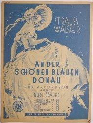 AN DER SCHONEN BLAUEN DONAU FUR AKKORDEON - Rudi Brauer