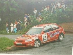 RAJD WRC 2005 ZDJĘCIE NUMER #019 HONDA CIVIC