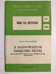 Z NAJNOWSZYCH OSIĄGNIĘĆ FIZYKI - Adam Strzałkowski 1985