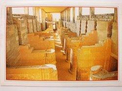 EGYPT. SAKKARA THE ENTRANCE OF ZUSER PYRAMID
