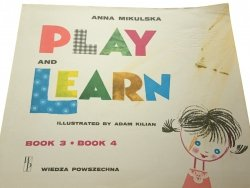 PLAY AND LEARN 3-4 - Anna Mikulska 1989