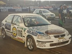 RAJD WRC 2005 ZDJĘCIE NUMER #282 HONDA CIVIC